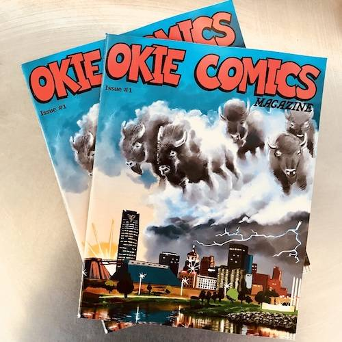 Okie Comics books